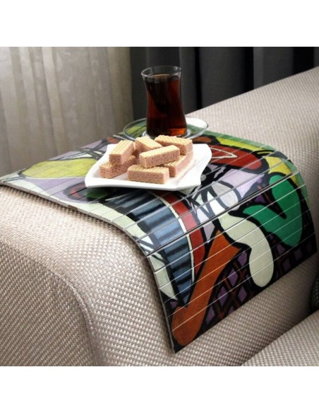 Picasso desenli zigon sehpa
