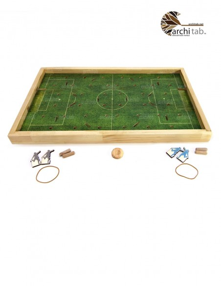 ahşap futbol oyunu