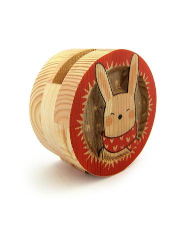 tavşan desenli kalemlik