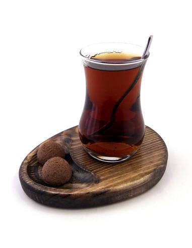 ikramlı çay tabağı