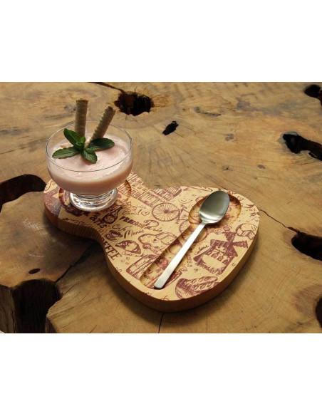 Pasta ve tatlı sunum tabağı