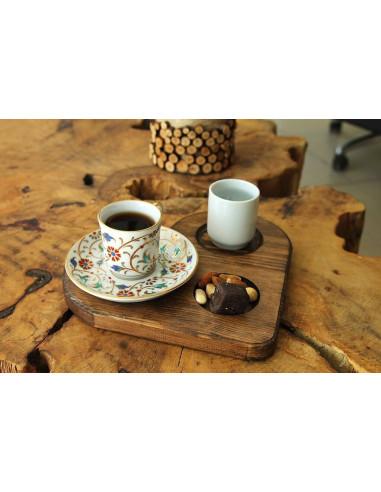 Türk Kahvesi Kalpli Sunum