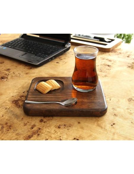 Bambu çay tabağı