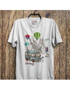 Kapadokya turist t-shirt