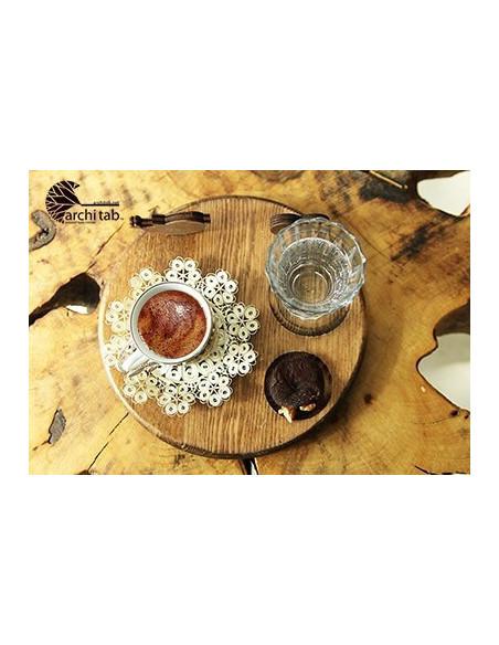 bir kuş bir kalp Türk kahvesi