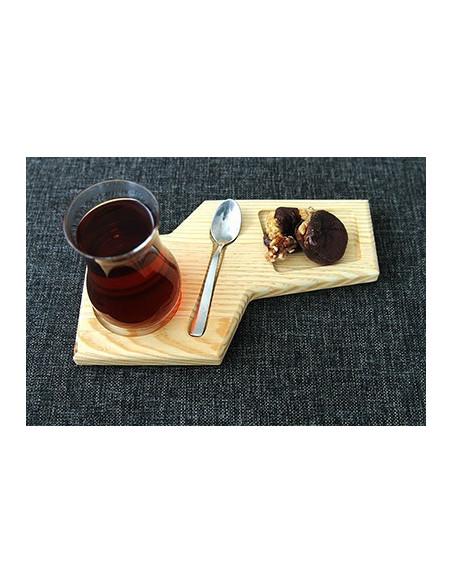 bambu çay tahtası