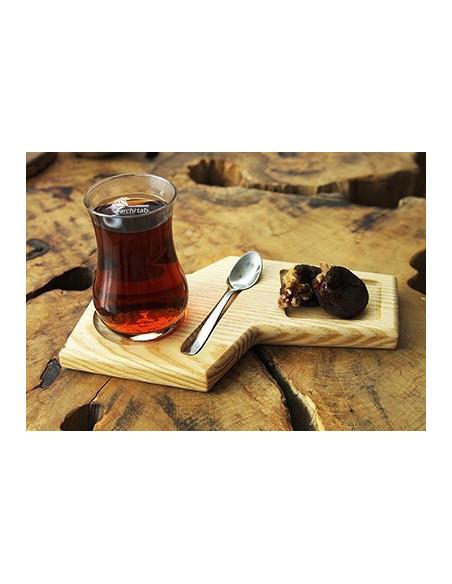 dikdörtgen çay sunum