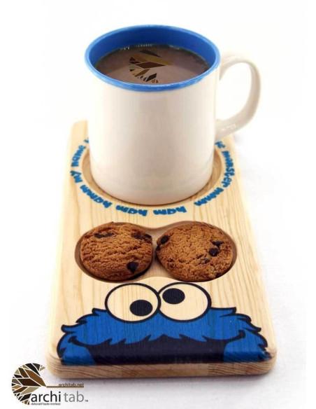Kurabiye Canavarı çay kahve sunumu