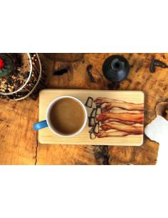 Kahve ve çay bambu sunum servisleri