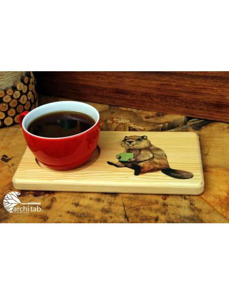Sevimli Kunduz Kahve İçiyor