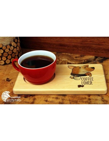 Kahve sevenlere ahşap hediye