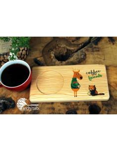 Bambu kahve setleri