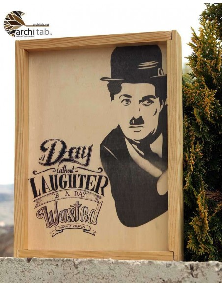 Charlie Chaplin The Kid kanvas tablo