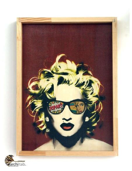 Madonna baskılı tablo