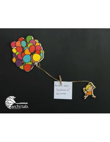 Balonlu Kucuk Kiz Magnet