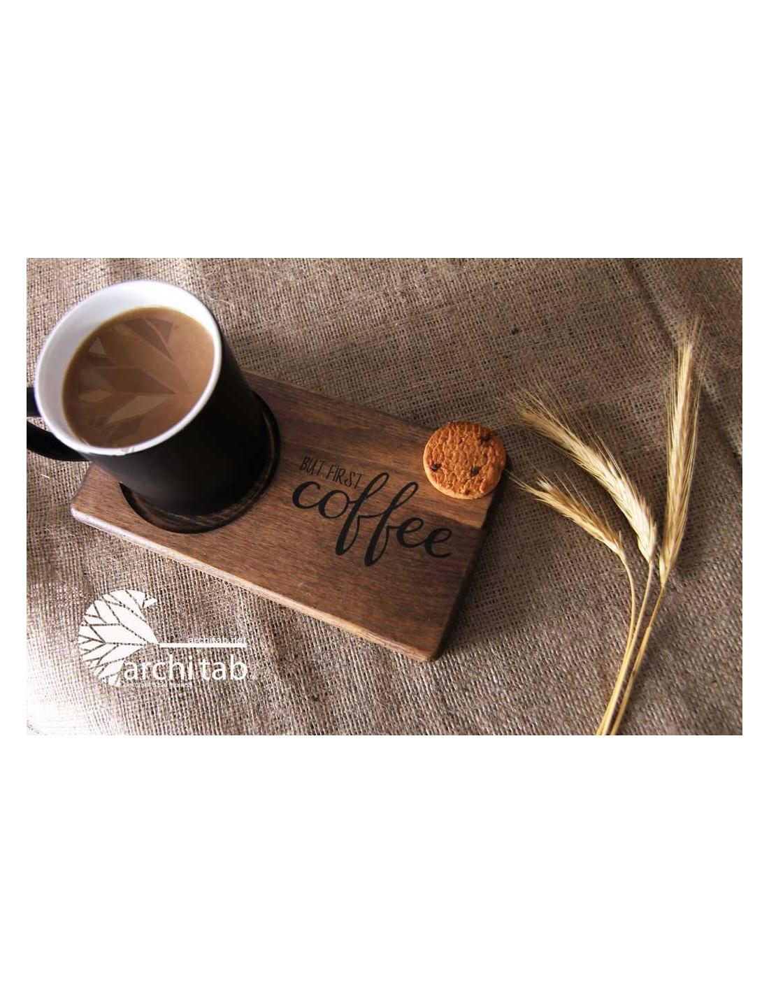 Güne kahveyle başlayanlardan mısınız? But First Coffee ...Bardak Altligi