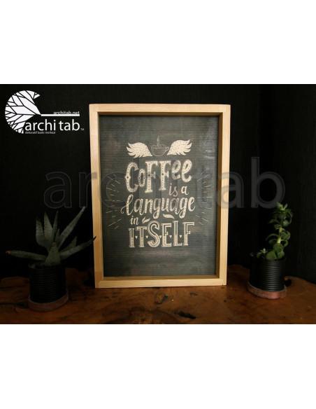 kahve sevenlere özel ahşap tablolar