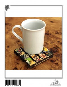 doğal ahşap çay tabağı