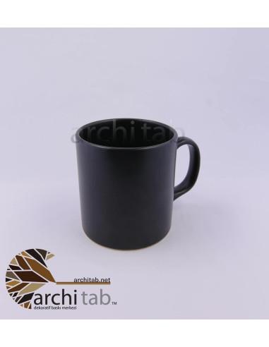 siyah mat seramik kupa