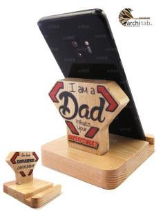 Babalar için Ahşap Telefon...