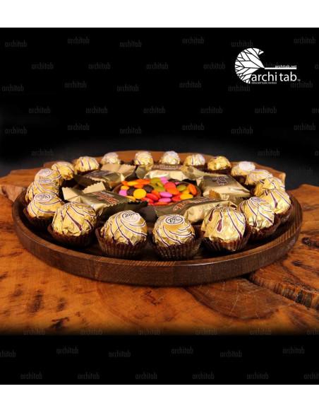 ahşap tatlı tabağı