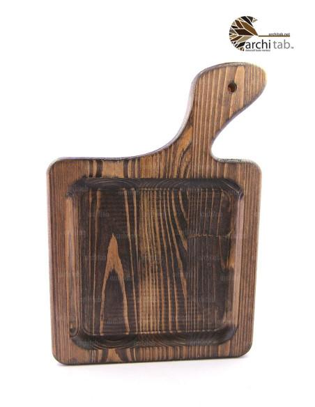 saplı bambu sunum